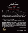 2013 Riesling Front Label